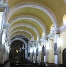 Boveda de Cañon Corrido: un arco de medio punto de forma repetitiva uno despues del otro