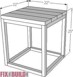 Digital plans from the Reclaimed Industrial Side Table post. Plan contains: Parts List Cut diagrams Detailed instructions assembly guide Side Table Decor, Outdoor Side Table, Outdoor Coffee Tables, Diy Table, Side Tables, Industrial Side Table, Modern Side Table, Diy Furniture Plans, Wood Furniture