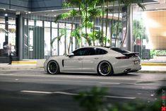 Amazing Contrast: White Porsche Panamera on Satin Black Anrky Wheels Porsche Panamera Turbo, Porsche 911, Porche Car, Infiniti Q50, Because Race Car, Koenigsegg, Amazing Cars, The World's Greatest, Exotic Cars