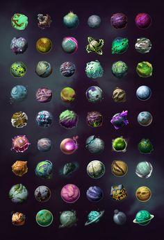 ArtStation - Planets , Daniel Beaulieu