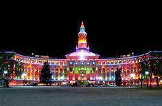 State Capitol building in Denver Colorado