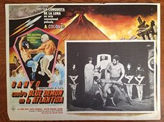 "Santo contra Blue Demon en la Atlantida (1970) Lobby Card (16 1/2"" x 11 1/2"") null http://www.amazon.com/dp/B01399DIZ2/ref=cm_sw_r_pi_dp_V942vb0VZT1HC"