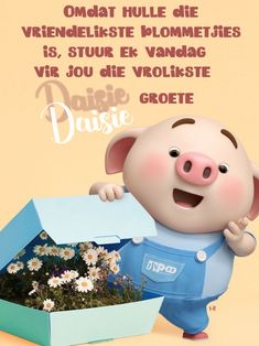 Morning Blessings, Good Morning Wishes, Good Morning Quotes, Lekker Dag, Cute Piglets, Afrikaanse Quotes, Goeie More, Little Pigs, Mom And Dad