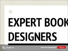 Infographic: Expert Book Cover Designers -