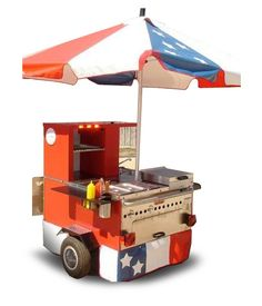Hot Dog wagon this is great cart star resolution advice! Frankfurter Hot Dog, Walk In Freezer, Dog Trailer, Taco Stand, Hot Dog Cart, Meals On Wheels, Hot Dog Stand, Hot Dog Recipes, Coffee Truck
