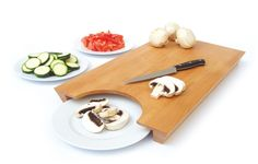transfer cutting board – get your mise en place in place!