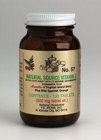 vitamin C contains 100 mg