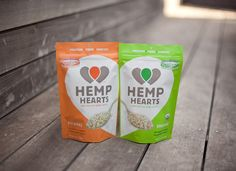 Hemp Heart love from Manitoba Harvest. I don't really get why one is organic and one isn't.. it should all just be organic! It's hemp!
