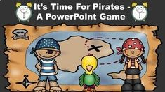 Mar 31, 2020 - This pirate themed game reviews the concept of time to the nearest five minutes. It includes the following components:** Review of the minute and hour hands.** Tips and tricks for telling time.** Time to the Nearest Five Minutes Practice - 24 questions**The Lightning Round! This round is a mix of ti... Learning Resources, Teacher Resources, Classroom Resources, Teaching Ideas, Classroom Themes, Powerpoint Games, Time Time, Pirate Theme, Teacher Tools