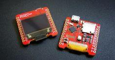 「Arduino Zero」互換の0.95インチ有機ELディスプレイ搭載ボード「Pixel Mini」