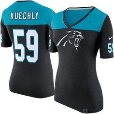 nfl WOMEN Carolina Panthers Luke Kuechly Jerseys