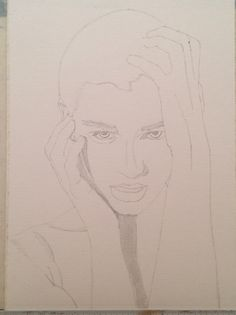 Early stages of latest drawing...
