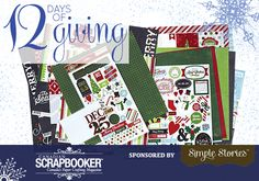 Canadian Scrapbooker Backstage Pass by Jackie Ludlage 12 Days Of Christmas, Christmas Ideas, Page Protectors, Christmas Scrapbook, Simple Stories, Giving, Giveaways, Backstage, Archive