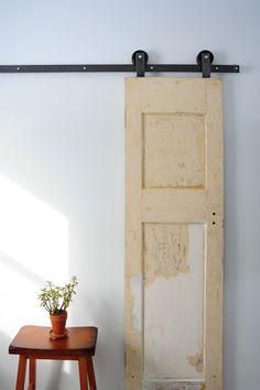 Top Mount Barn Door Hardware Kit – Off The Hinges