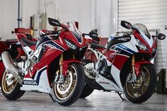 2017 CBR 1000 RR SP and SP2