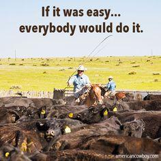 #MotivationMonday hard work cowboy quotes