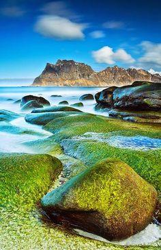 Uttakleiv Beach, Lofoten Islands,Norway
