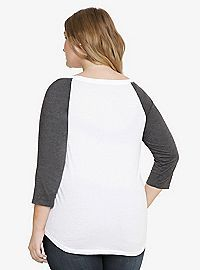 TORRID.COM - Life is Too Short Raglan Tee