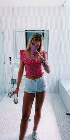 Preppy Summer Outfits, Cute Casual Outfits, Spring Outfits, Stylish Outfits, Preppy Winter, Preppy Clothes, Summer Clothes, Looks Pinterest, Outfit Goals