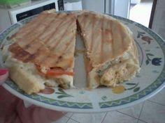 Pão sírio com fibra de sj