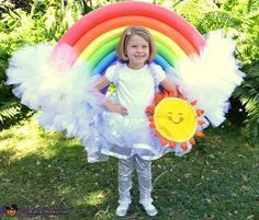 25 simple halloween costume to try pinterest halloween costumes diy rainbow costume 2016 halloween costume contest solutioingenieria Images