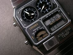 Whether it be functionality or appearance, Casio Watches already have it all. If you know precisely what you desire, a little shopping around via the internet will allow you to locate the best offers. Retro Watches, Old Watches, Vintage Watches, Watches For Men, Armani Watches, Luxury Watches, Seiko Vintage, Skeleton Watches, Beautiful Watches