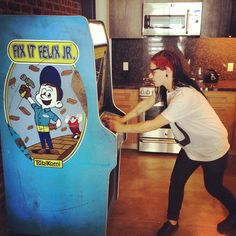 Photo by skrillex playing Fix it Jr. (Disney's Wreck it Ralph)
