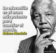 12 Mejores Imágenes De Nelson Mandela Frases Frases