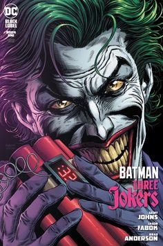 Joker Comic, Joker Dc Comics, Joker Art, 3 Jokers, Three Jokers, Joker Photos, Joker Images, Batman Joker Wallpaper, Joker Wallpapers