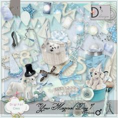 Your Magical Day by Doudou Design http://digital-crea.fr/shop/?main_page=index&manufacturers_id=107