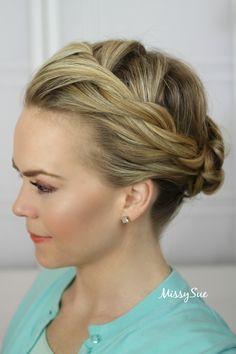 Frozen, Elsa Coronation Hairstyle, Missy Sue - Hair Tutorials