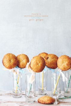 Peach and Butterscotch Sauce Pie Pop from Bakers Royale