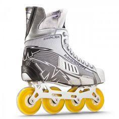 Mission Inhaler AC3 Roller Hockey Skate Roller Hockey Skates, Jordans Sneakers, Air Jordans, Cleats, Sports, Fashion, Football Boots, Hs Sports, Moda