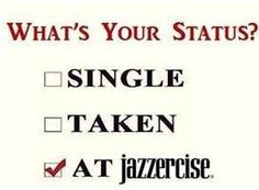 What's Your Status?  Come visit Lakes Area Jazzercise in Walled Lake, MI and dance your way to a better body!  Feel free to call (248) 722-4095 or visit our website www.jazzercise.com to find out more information!