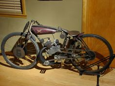 indian racer Motos Vintage, Vintage Bikes, Vintage Motorcycles, Cruiser Bicycle, Motorized Bicycle, Moto Bike, Motorcycle Bike, Gas Powered Bicycle, Custom Moped