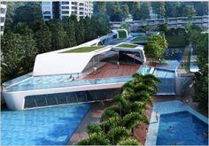 Zaha Hadid condo d'leedon, Singapore