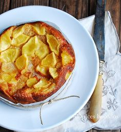 Dulces bocados: Bizcocho con manzana