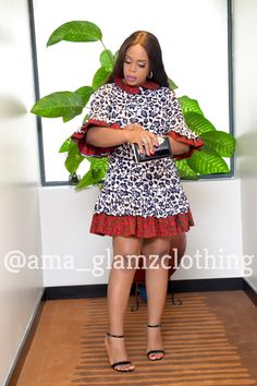 Push your style game to the max in our IZUNNE DRESS, uniquely designed with beautiful mix of African Wax prints and in flattering silhouette. Very Affordable piece. Contact - IG 8137007677 (Voice & Whatsapp) Source by makyzdreal fashion dresses African Shirt Dress, Short African Dresses, African Print Dresses, Short Dresses, African Prints, African Fabric, African Fashion Ankara, Latest African Fashion Dresses, African Print Fashion