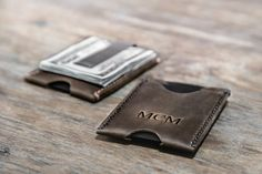 Buy this Super Slim Minimalist Money Clip Wallet Online at JooJoobs. Handcrafted using Premium Distressed Leather, this is the Best Handmade Money Clip.