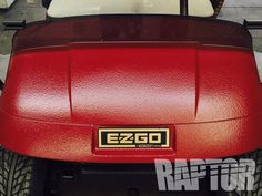 GOLF CAR: Full Overspray #raptorised