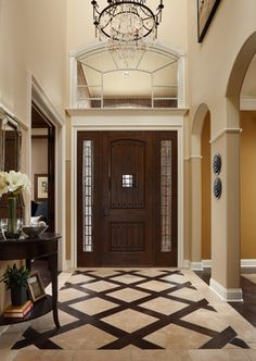 entry way tile pattern ideas | Home tile entryway Design Ideas, Pictures, Remodel and Decor