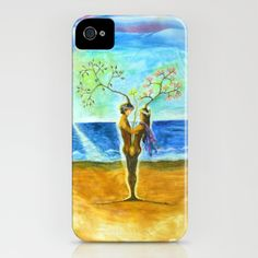 FOREVER - day iPhone Case by Vargamari - $35.00 - early encaustic, from My Fairy Tale-series