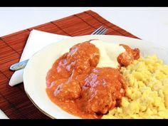 ▶ Paprikás csirke galuskával videó recept (Paprika chicken with dumplings) - YouTube