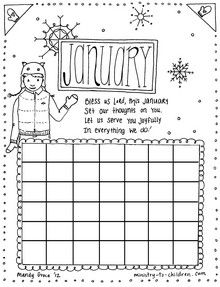 Winter Coloring, Woolly Hat Winter Coloring Pages: Woolly