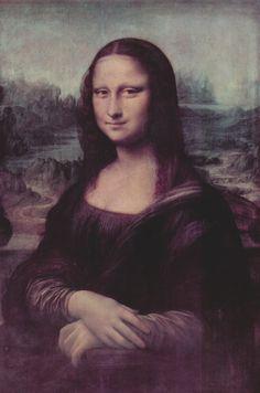 This has always been my favorite painting<3 Leonardo Da Vinci's Mona Lisa! :D