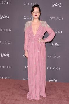 Dakota Johnson en Gucci