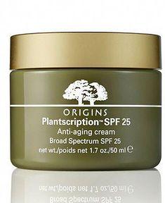 Origins Plantscription SPF 25 Anti-aging Cream #AntiAgingFacial Anti Aging Facial, Anti Aging Serum, Anti Aging Skin Care, Younger Skin, Skin Care Cream, New Skin, Skin Tips, Skin Problems, Healthy Skin