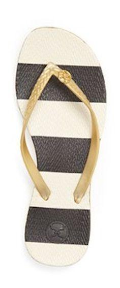 Striped flip flops http://rstyle.me/n/fzcaknyg6