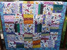 Project Linus quilt #49 for the year by fourseasonsquiltswap, via Flickr