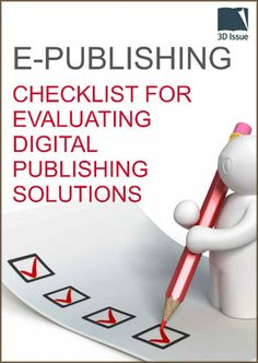 15 best digital publishing images on pinterest infographic info free ebook download checklist for evaluating digital publishing solutions publishingsoftware fandeluxe Images